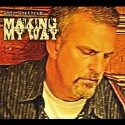 "Andy Northrup ""Making My Way"" CD cover and website link."