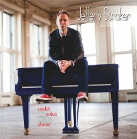 "Jeffery Straker ""Under The Soles Of My Shoes"" CD cover and website link."
