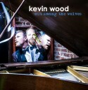 "Kevin Wood ""Out Among The Wolves"" CD cover and website link."