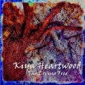 "Kiya Heartwood ""The Living Tree"" CD cover and website link."