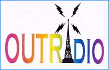 OUTRADIO Logo and link to the website.
