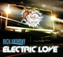 "Rich Anthony ""Electric Love"" CD cover and website link."